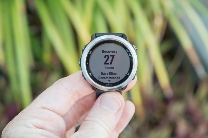 Garmin-FR645-Recovery-Time
