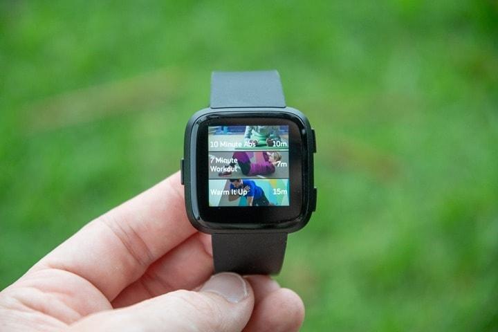 Fitbit-Versa-Coach-Workouts-Default-List