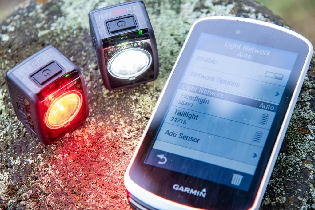 Bontrager Flare RT & Ion 200 RT Connected Bike Lights In