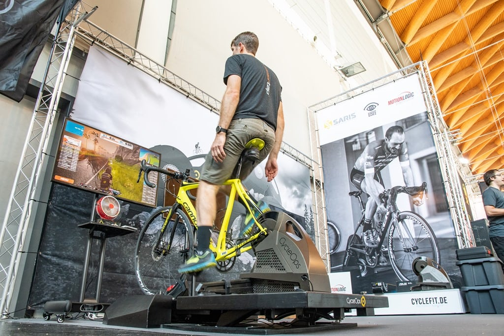 CycleOps Shows Off New Indoor Trainer Moving Platform | DC