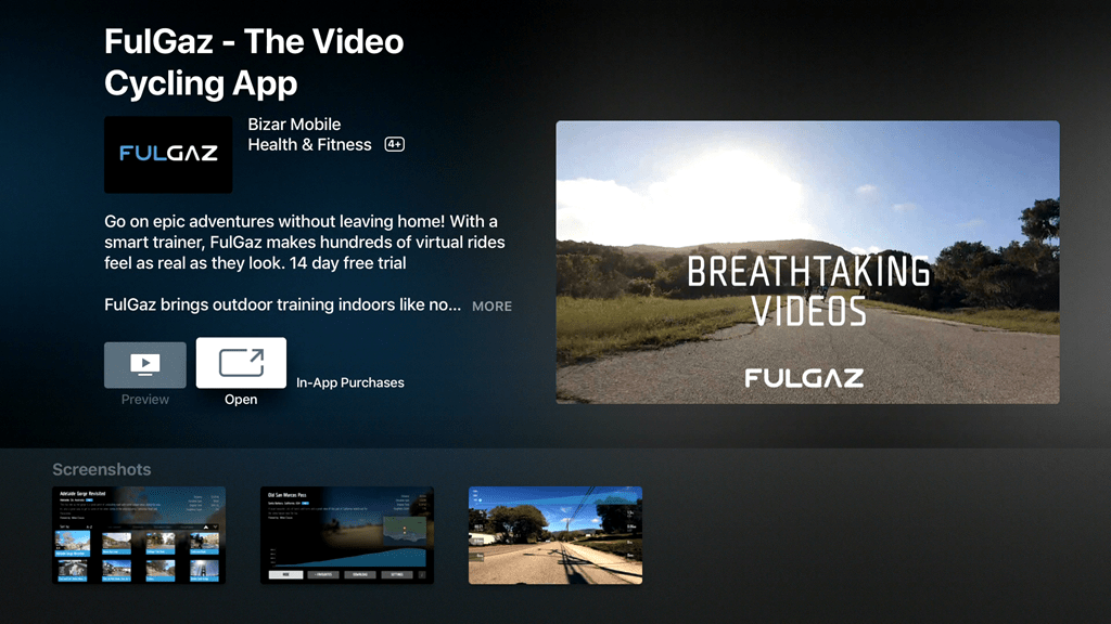 FulGaz rolls out Apple TV App–First Ride Details | DC Rainmaker