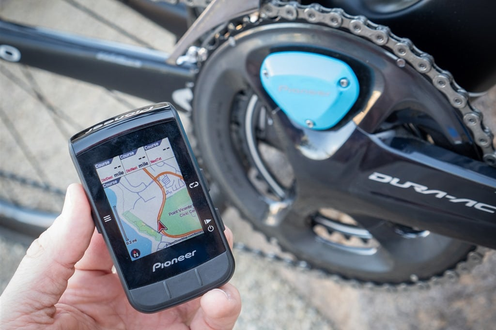Pioneer Announces New Color Mapping Gps Bike Computer Plus New