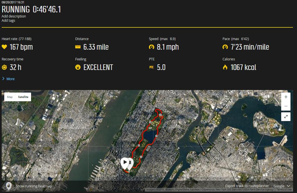 new york city gps running accuracy test rabbit hole dc rainmaker rh dcrainmaker com GPS 76 Fisherman Garmin Hunting GPS Units