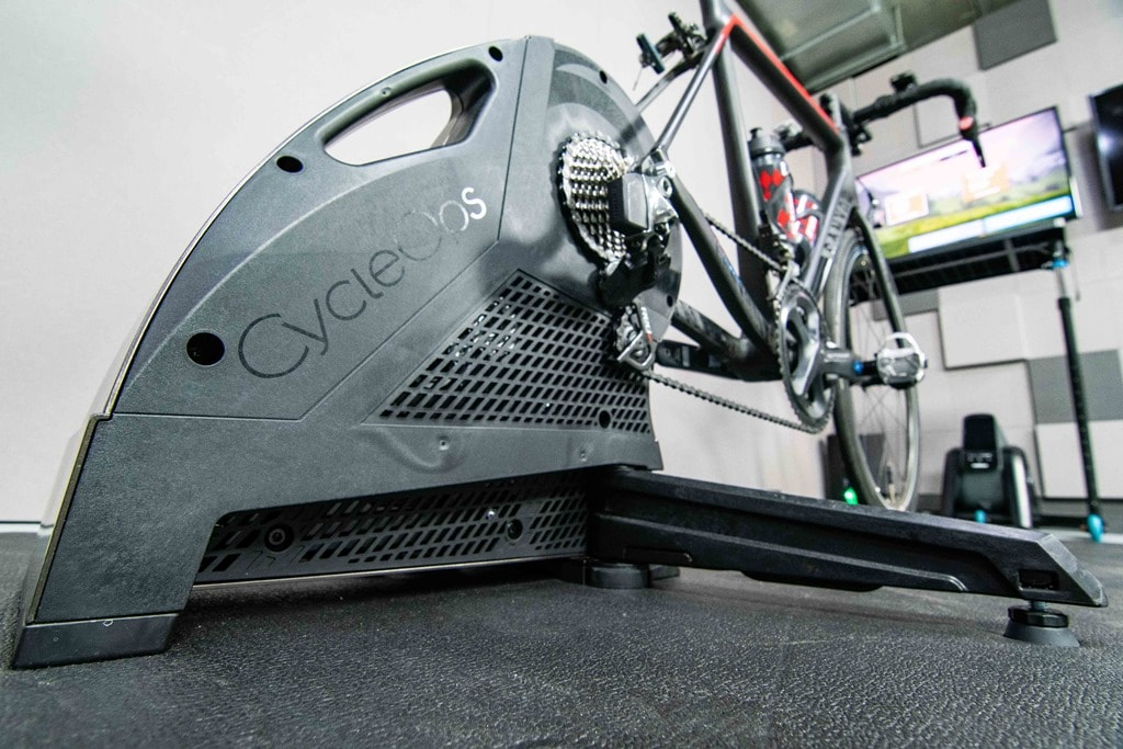 70bfbe83d08 This past summer at Eurobike, CycleOps somewhat quietly announced their new  Hammer 2 trainer, more officially known as the H2. This trainer would take  the ...