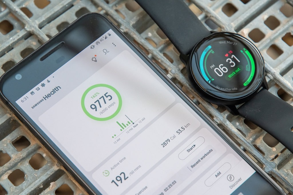 How to export fitness data from the Samsung wearables (and