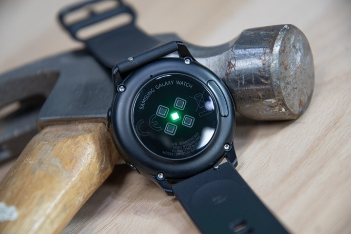 Samsung Galaxy Watch Active – Sport & Fitness In-Depth Review
