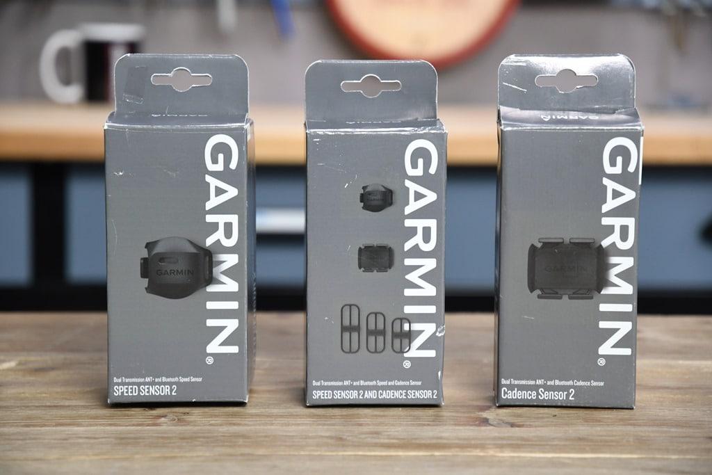Garmin Speed & Cadence Sensors V2 with ANT+/Bluetooth Smart