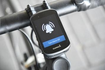 Garmin-Edge530-Bike-Alarm-Aktiviert