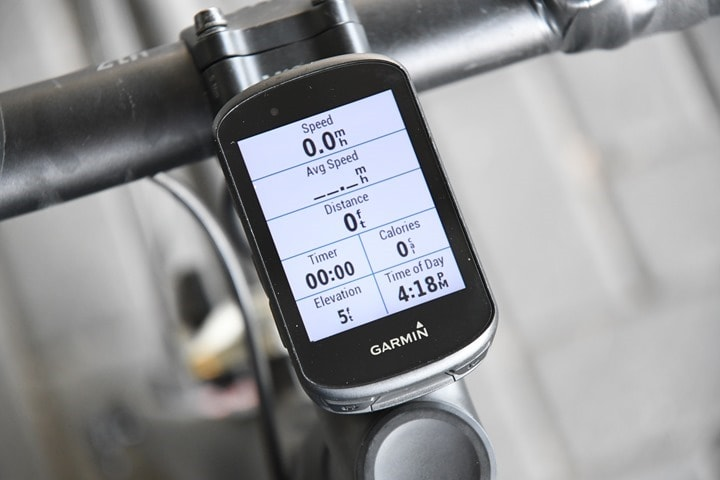 Garmin-Edge530-MainStartingPage