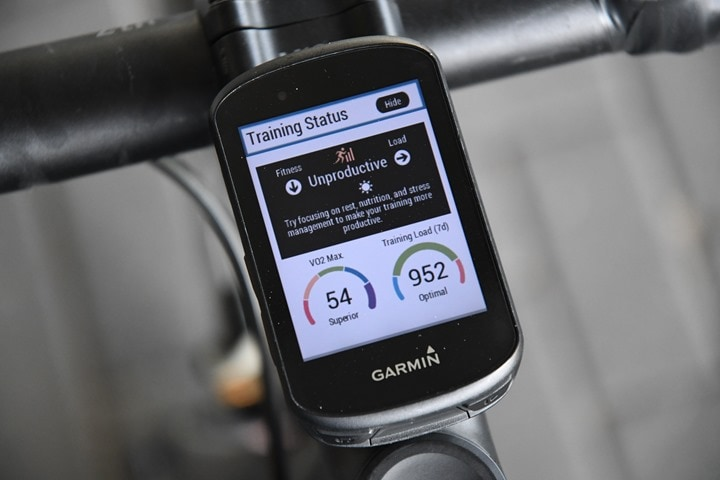 Garmin-Edge530-TrainingStatus