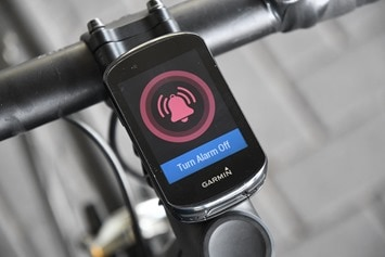 Garmin-Edge830-Bike-Alarm-Triggered