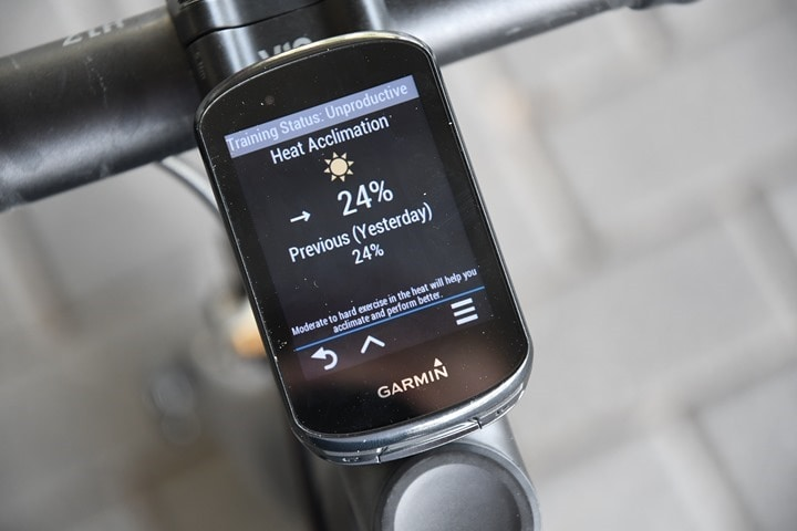 Garmin-Edge830-Heat-Acclimation