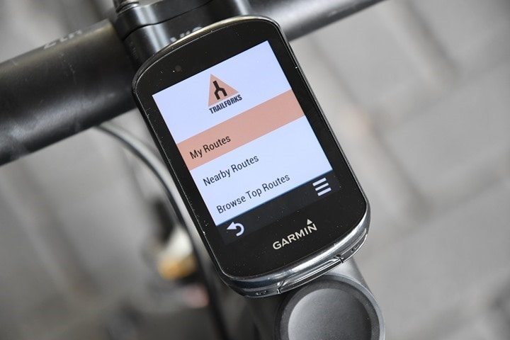 Garmin-Edge830-TrailForks-Apps