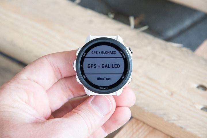 Garmin-FR245-UltraTrac-GPS-Modes