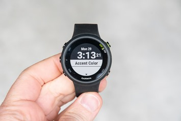 Garmin-FR45-CustomizeWatchFace