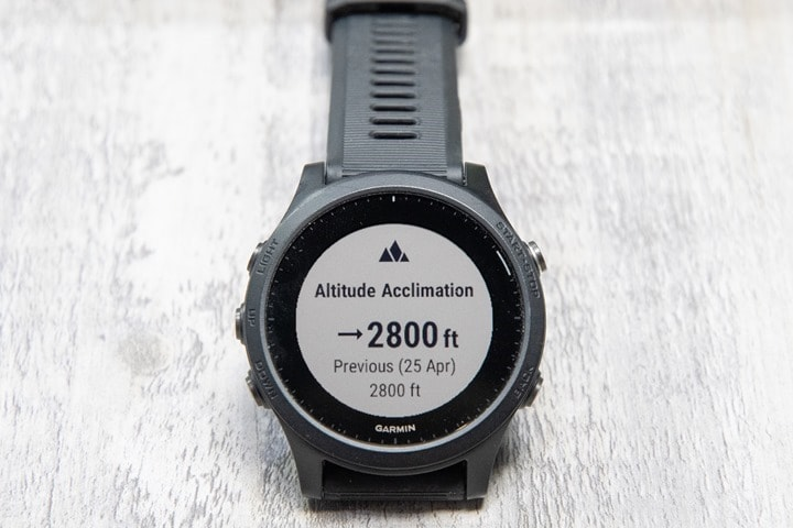 Garmin-FR945-AltitudeAcclimation