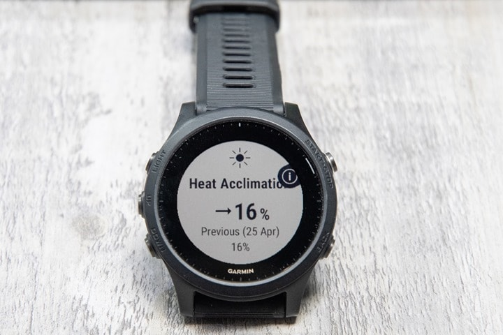 Garmin-FR945-Heat-Acclimation