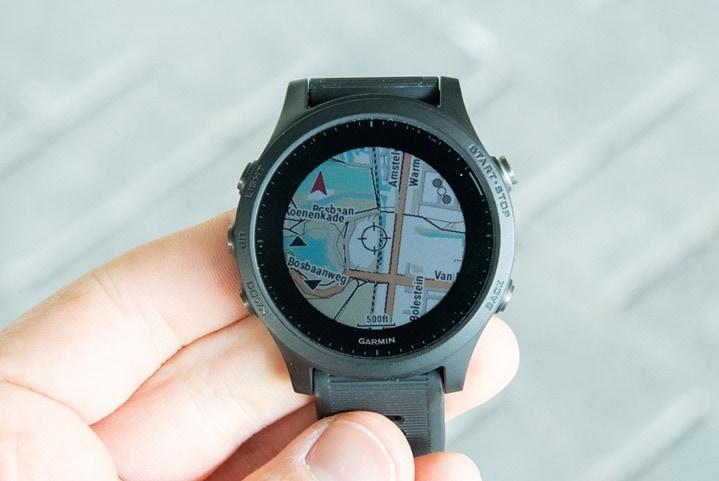 Garmin-FR945-Maps
