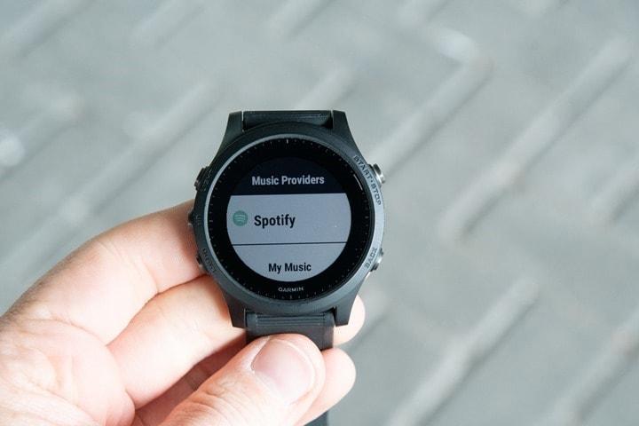 Garmin-FR945-Spotify-Provider