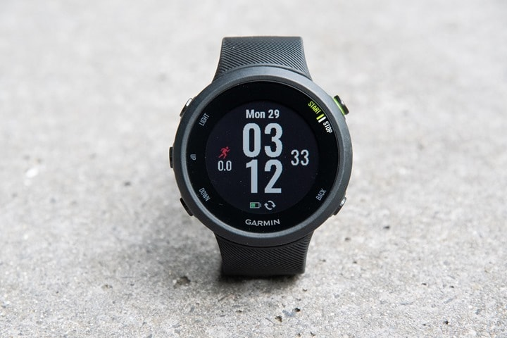 Garmin-Forerunner45-Watch-Face