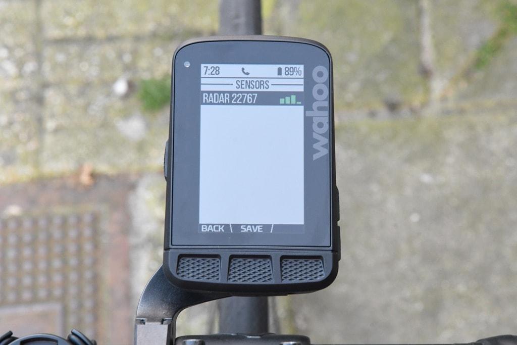 Hands-on: Wahoo Adds Radar Support for ELEMNT/BOLT/ROAM