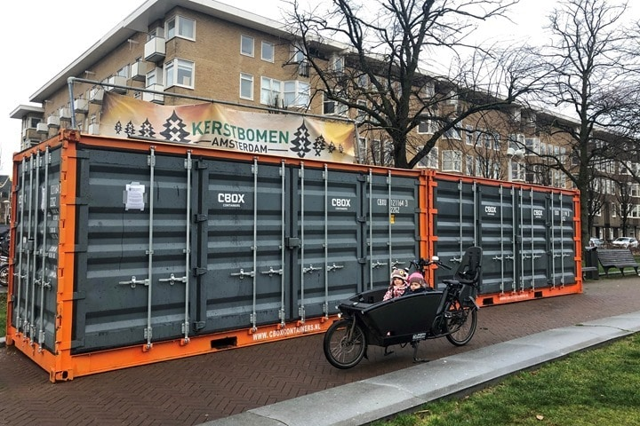 Cargo-Bike-EMpty-Containers