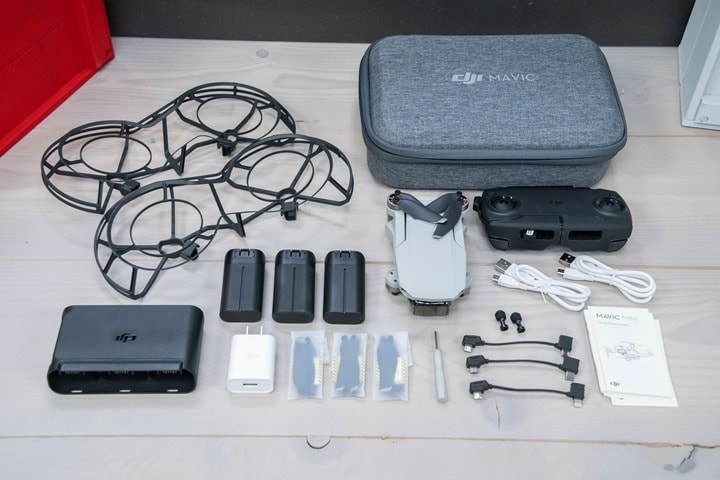 DJI-Mavic-Mini-Fly-More-Combo-Unboxed