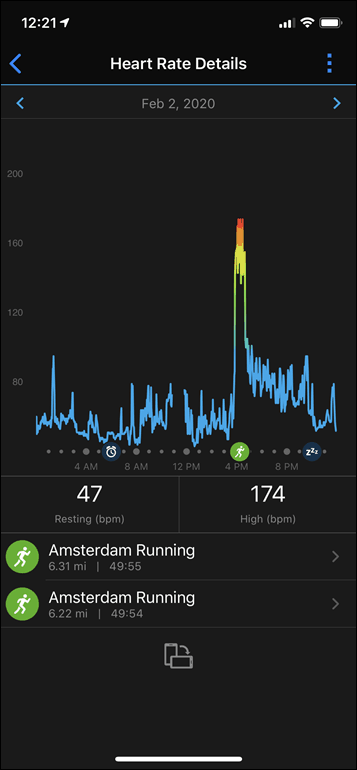 Garmin-Connect-Vivoactive4-Daily-HR