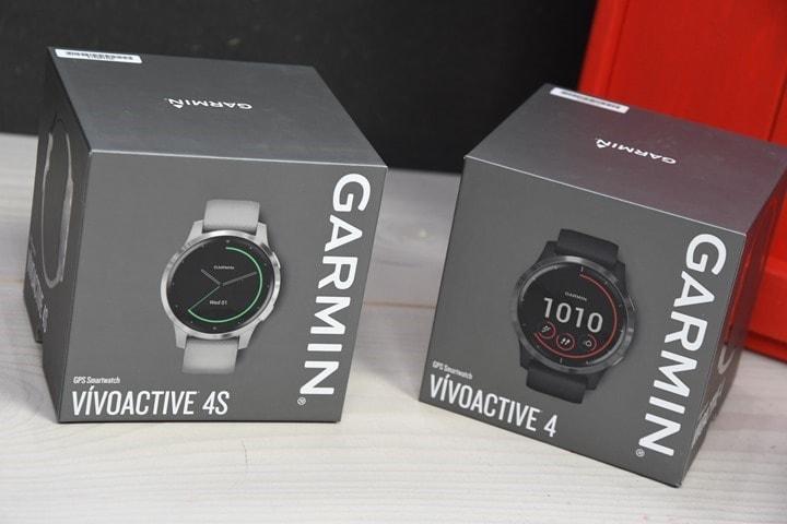 Garmin-Vivoactive4-4s-Unboxing