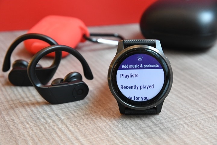 Garmin-Vivoactive4-ChooseSpotify-Playlist