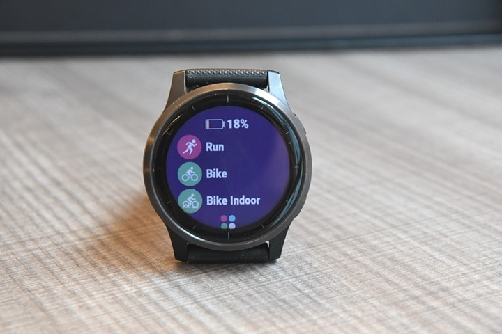 Garmin-Vivoactive4-Run-Mode