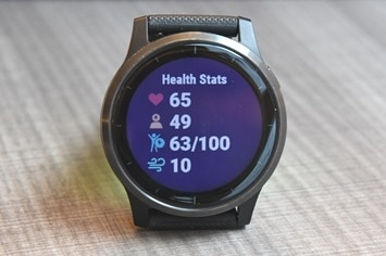 Garmin-health-widget-stats