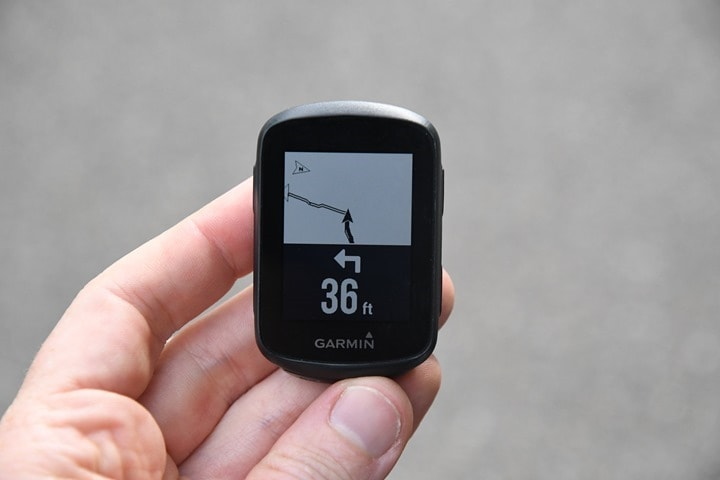 Garmin-Edge130Plus-ApproachingTurn
