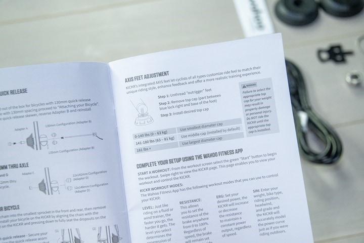 Wahoo-KICKR-V5-2020-AXIS-Feet-Manual