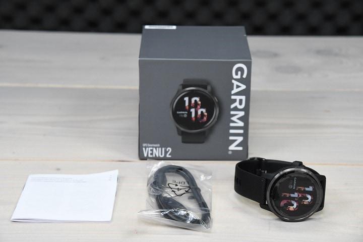 Garmin-Venu-2-Unboxed-Parts