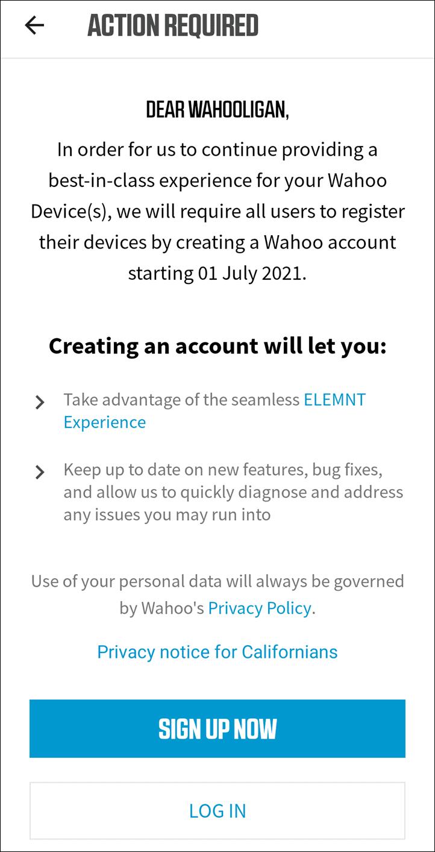 WahooRegistration