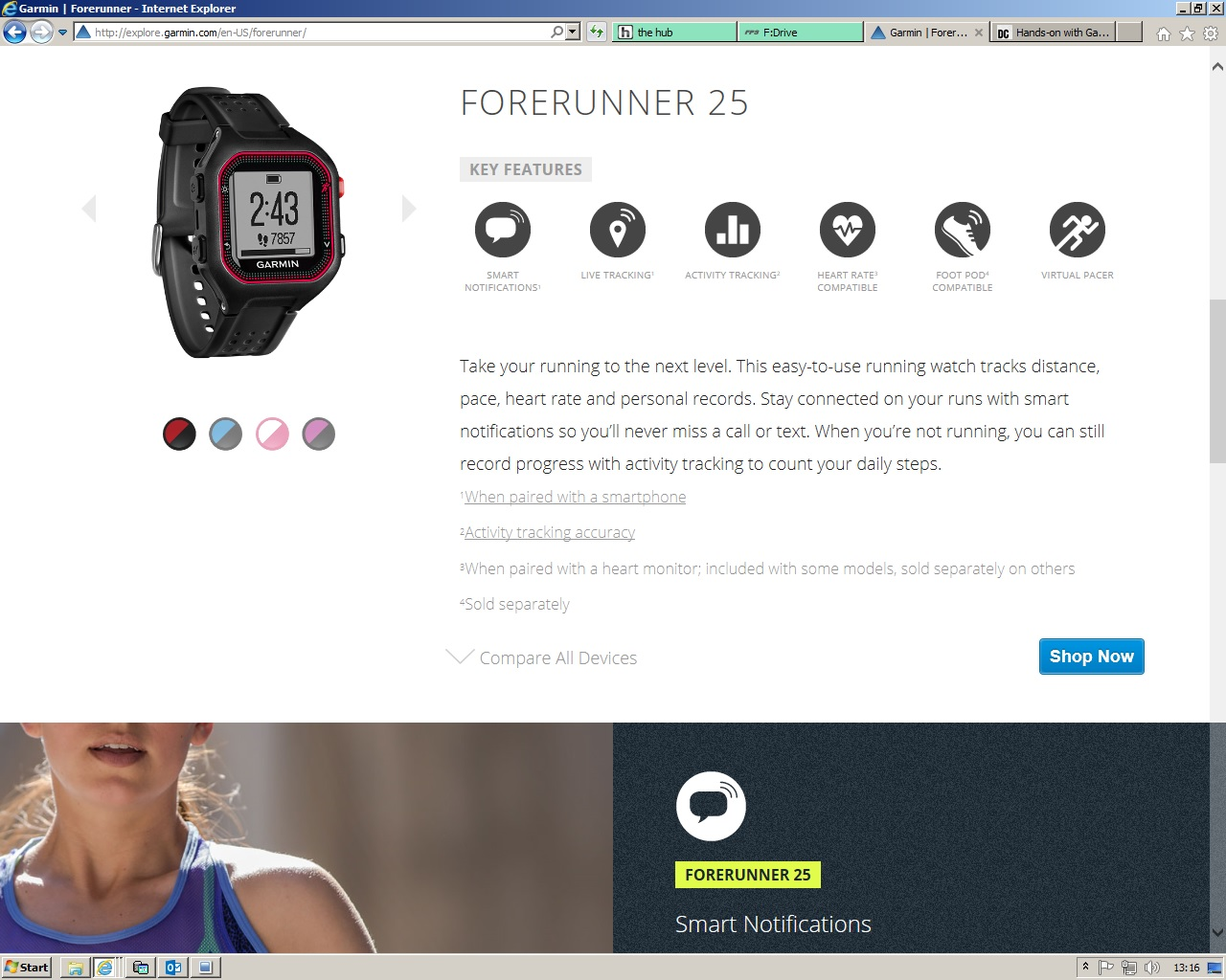afcff1378f77 Hands-on with Garmin s new Forerunner 25
