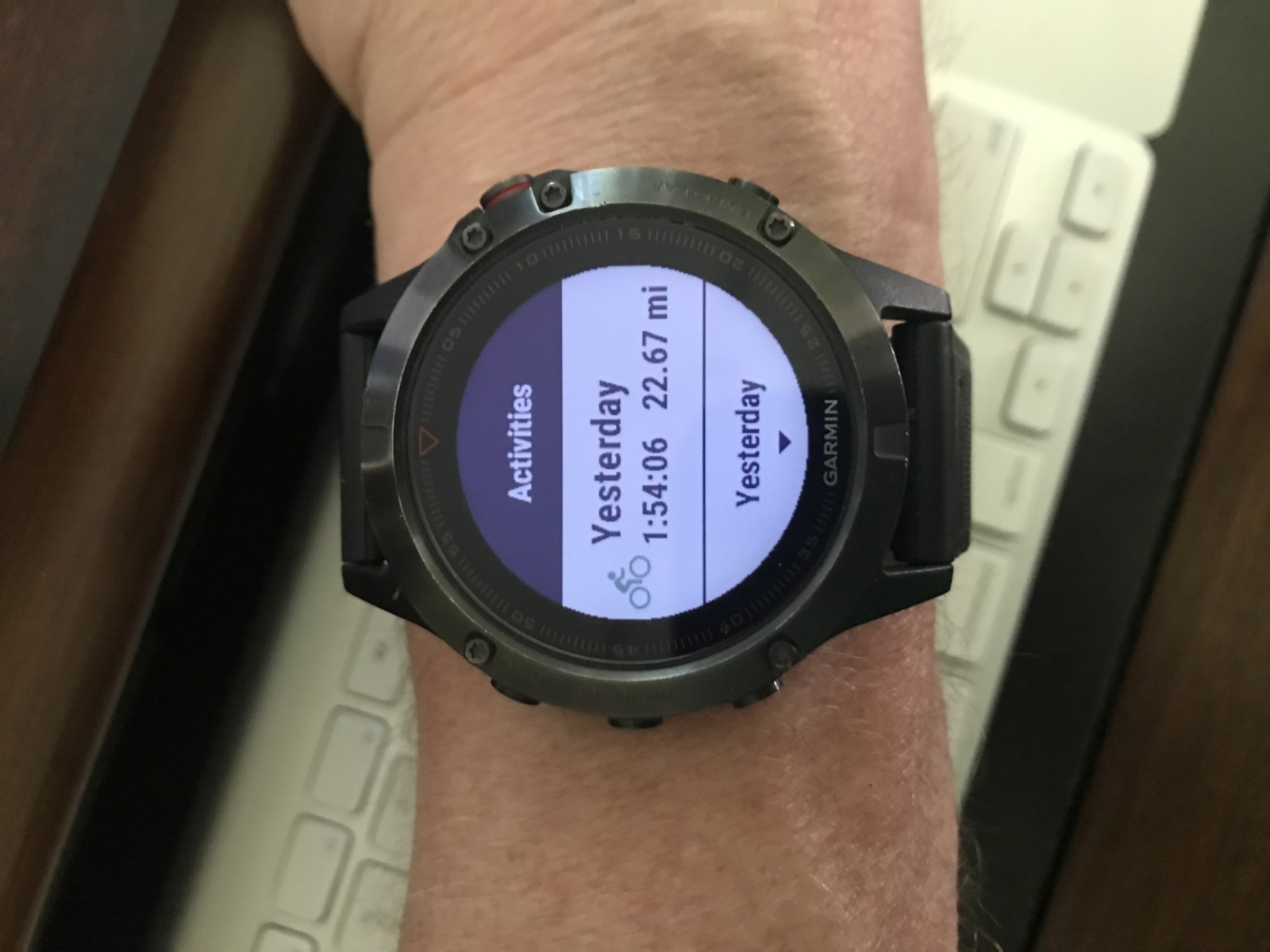 Garmin's new TrueUp multi-device activity tracking sync