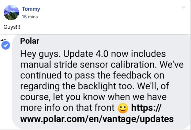 Sunday Tidbits: Polar's new Vantage V Titan + Roadmap